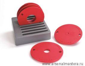 Набор из 5-ти колец для пластин (PRS3034, PRS3036, PRS3038) для крепления фрезера Kreg PRS3050