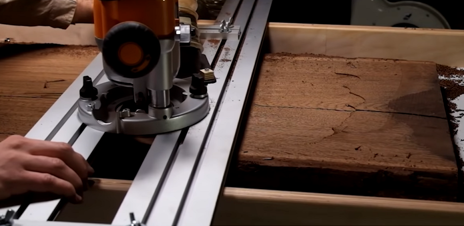 С помощью фрез Димар, CMT и Шины возможно изготовить Стол-Реку