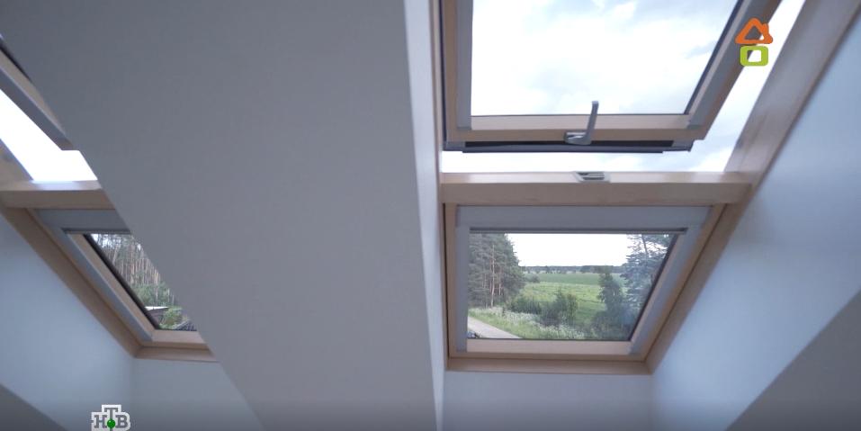 Как много света и воздуха дают мансардные окна