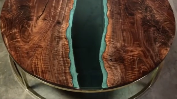 Как изготовить столик из слэба со стеклом: пошаговые фото инструкции