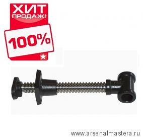 Винт York HV511 для верстачных тисков с упором на конце винта D28 мм 330/165 мм М00000679 ХИТ!