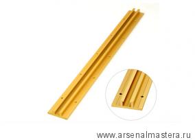 Алюминевый профиль 610 мм с Т-канавкой для соединения МДФ панелей INCRA BCONECT24