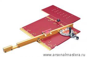 Угловой упор INCRA Miter 5000 со столешницей для прецизионного реза ( 364 фиксированных положений с ограничителем Flip Shop Stop) M-MITER5000