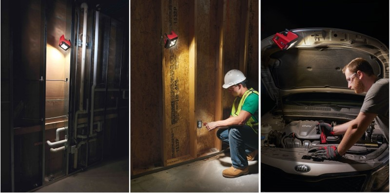 Прожектор Milwaukee TRUEVIEW M12 AL-0 светодиодный 4933451394