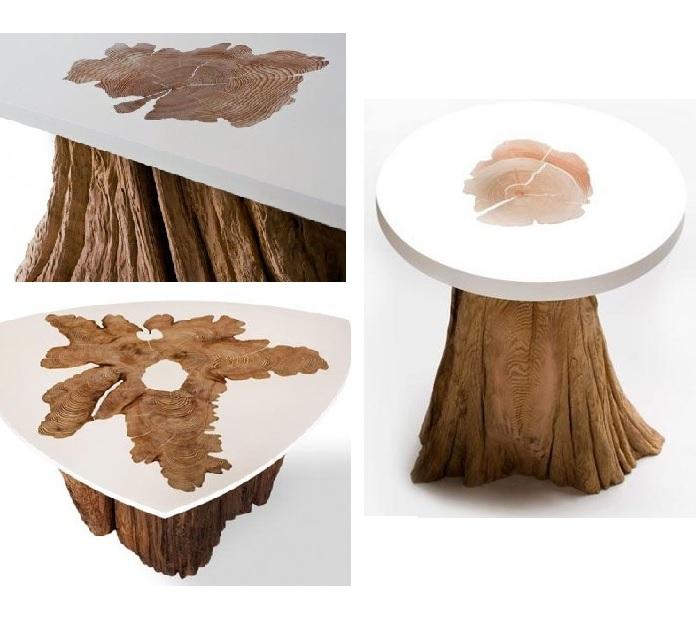 Эпоксидный столик слэб из куска дерева заливка смолой