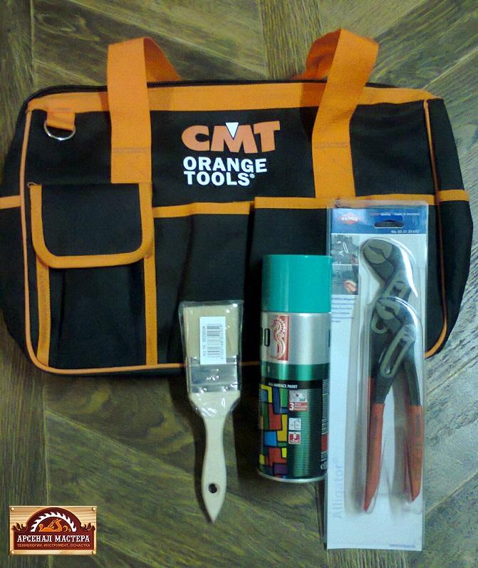 всегда помогает сумка для инструментов CMT BAG-001.