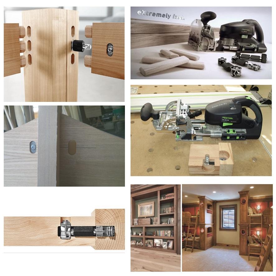 Которые обеспечивают изготовление быстроразъемных соединений для массивных столярных изделий: столов, шкафов, кроватей