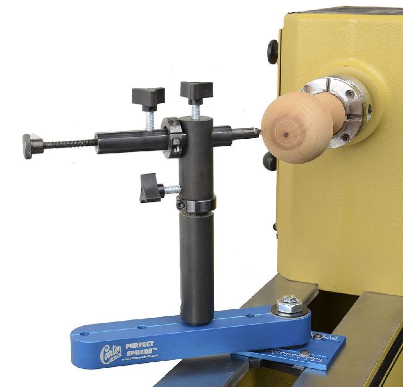Максимальный диаметр шара вытачиваемый на вашем станке будет равен максимальному обрабатываемому диаметру минус 50 мм