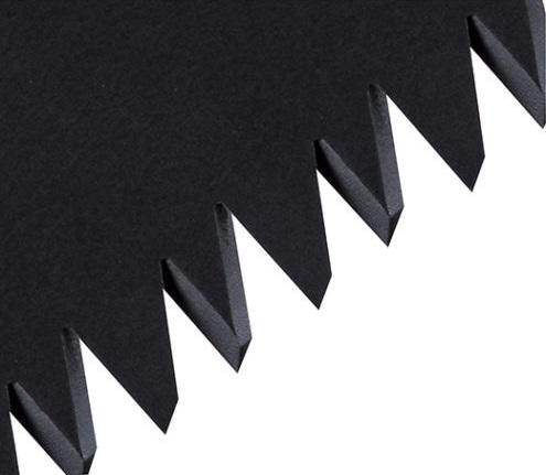 фото Складная японская ручная пила TAJIMA ALUMINIST BLACK с черным полотном 240 мм ALOR240FB