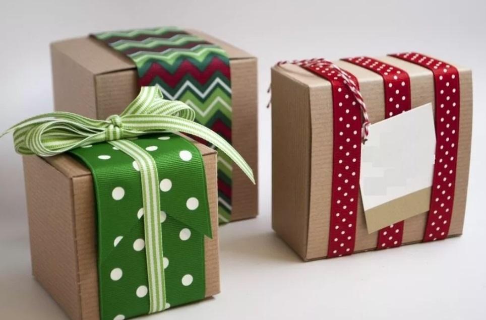 Вся упаковка для подарка может быть у Вас под рукой