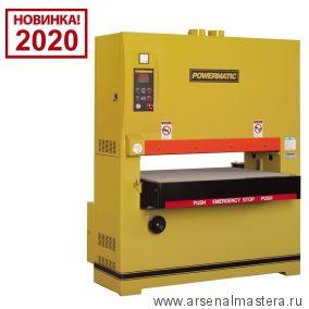 Калибровально - шлифовальный станок 400В 18,5 кВт Powermatic WB-43 1790843-RU Новинка 2020 года!