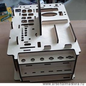Вкладыш органайзер деревянный (подходит для систейнера Festool  SYS3 M 337) ArMa-18