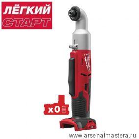 Акция Легкий старт: Аккумуляторный угловой импульсный винтоверт MILWAUKEE 1/4 Hex M18 BRAID-0 4933447891