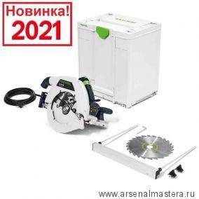 Дисковая пила в систейнере SYS3 M 437 FESTOOL HK 85 EB-Plus 576147 Новинка 2021 года !