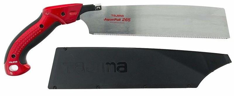 Ручная пила японская TAJIMA Japan Pull Aluminist 265 мм