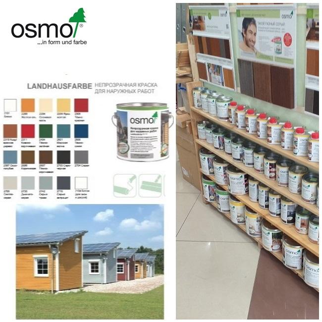 масла и краски Osmo